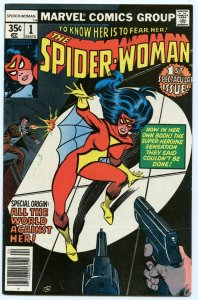 Spider-Woman 1 Apr 1978 NM- (9.2)