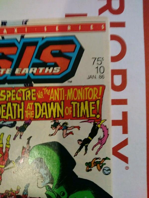 Crisis on Infinite Earths #10 (1986) Death Of Starman - Spectre Vs. Anti-Monitor