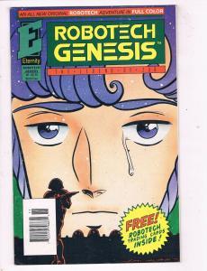 Robotech Genesis #5 VF/NM Eternity Comics Modern Age Comic Book 1992 DE48