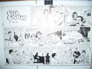 ELLA CINDERS ORIGINAL PRODUCTION ART  JULY1951 FRED FOX VG