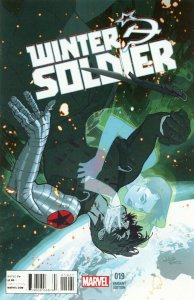 WINTER SOLDIER #19 Final Issue 1 for 20 Variant Cover Marvel Comics 2012