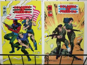 SOLDIERS OF FREEDOM (1987 AC) 1-2 THE SET!