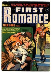 FIRST ROMANCE #20 1953-HAWAII STORY-SPICY POSES-NICE ART-VG-FOOTBALL STORY VG