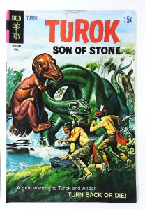Turok: Son of Stone (1954 series) #65, VF- (Actual scan)