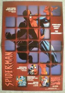 AMAZING SPIDER-MAN Promo Poster, 12x18, 1998, Unused, more Promos in store