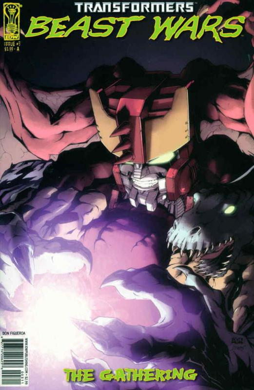 Transformers, Beast Wars: The Gathering #3A VF/NM; IDW   save on shipping - deta
