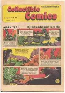 Collectible Comics Vol. 2 #4 1979-Sunday Herald-Tarzan-Russ Manning-Gil Kane-VF