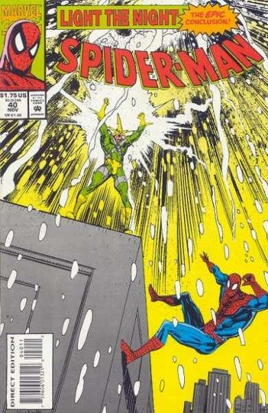 Spider-Man (1990 series) #40, NM (Stock photo)