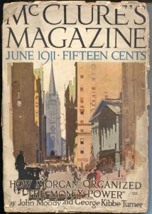 McClure's 6/1911-Wall Street cover-pulp stories-excellent interior art-G