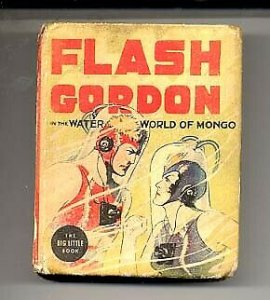 FLASH GORDON #1407-BIG LITTLE BOOK 1937 VG