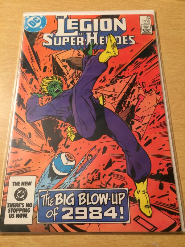 The Legion of Superheroes #311