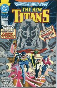New Titans Annual #7, VF+ (Stock photo)