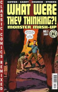 What Were They Thinking: Monster Mash-Up #1 VF; Boom! | save on shipping - detai