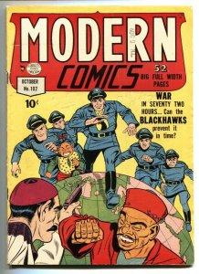 Modern Comics #102 1950- Blackhawk- Torchy - SCARE last issue