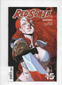RED SONJA #25 D, VF+, She-Devil, Vol 4, Williams, 2018, more RS in store