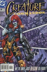 Creature Commandos #6 VF/NM; DC   save on shipping - details inside