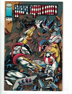 Superpatriot #4 signed by Keith Giffen - Image Comics