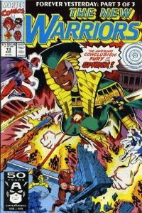 New Warriors (1990 series) #13, VF+ (Stock photo)