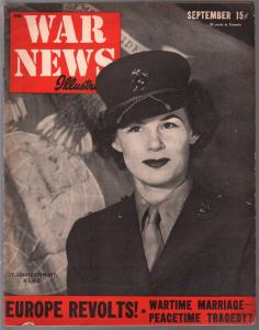 War News Illustrated #11 9/1943-Lt Louise Stewart, USMC-war pix-Nazis-Radar-VG