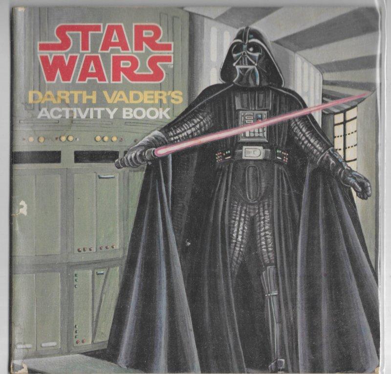 Star Wars: Darth Vader's Activity Book (Scholastic) GD