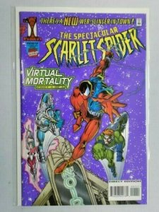Spectacular Scarlet Spider #1 Virtual Mortality 8.0 VF (1995)