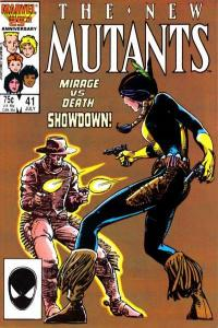 New Mutants (1983 series) #41, NM- (Stock photo)