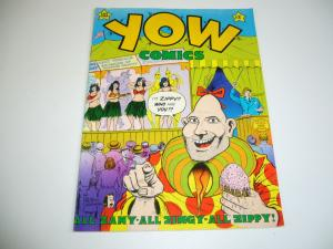 Yow #1 FN (3rd) print ZIPPY THE PINHEAD bill griffith 1978 LAST GASP underground
