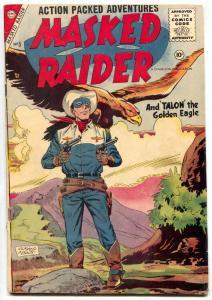 Masked Raider #5 1956- Charlton Western- Silver Age VG+