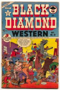 Black Diamond Western #39 1952- Golden Age comic VG-