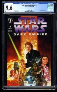 Star Wars: Dark Empire #1 CGC NM+ 9.6 White Pages