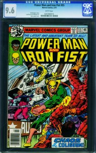 POWER MAN AND IRON FIST #55 1979- CGC GRADED 9.6 WHITE PAGES 0207683013