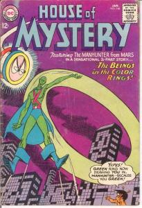 HOUSE OF MYSTERY 148 VG  January 1965 COMICS BOOK