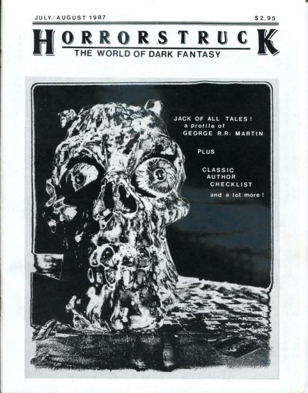 HORRORSTRUCK #2, VF, R R Martin, 1987, World of Dark Fantasy, Magazine