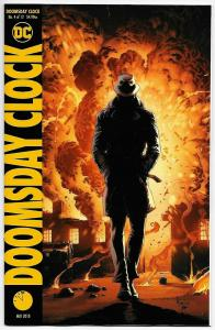 Doomsday Clock #4 Frank Variant (DC, 2018) NM