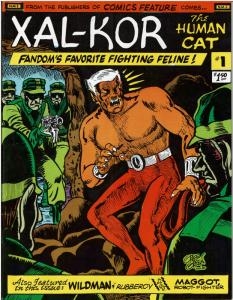 XAL-KOR The Human Cat! #1 - (1980)  8.5 or Better