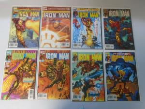 Iron Man comic lot run #1-25 25 different issues + #1B 8.0/VF (1998-2002)