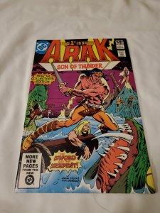 Arak Son of Thunder 1 Near Mint- Script by Roy Thomas
