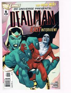 Deadman # 5 DC Comic Books Hi-Res Scans The New 52 Awesome Issue WOW!!!!!!!! S15