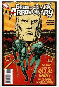 Green Arrow And Black Canary #8 (DC, 2008) NM