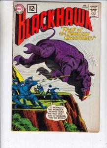 Blackhawk #169 (Feb-62) FN/VF+ High-Grade Black Hawk, Chop Chop, Olaf, Pierre...