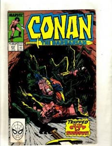 12 Conan Marvel Comic Books #217 218 220 221 222 225 243 246 248 249 250 J369