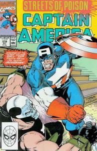 Captain America (1st Series) #378 FN; Marvel | save on shipping - details inside