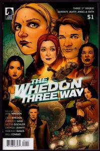 Whedon Three Way #1 (Dark Horse, 2014)   9.6 NM+