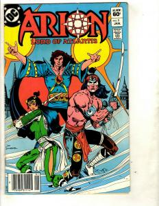 Lot of 9 Arion Lord of Atlantis DC Comics # 3 6 8 9 10 11 12 13 14 EK4