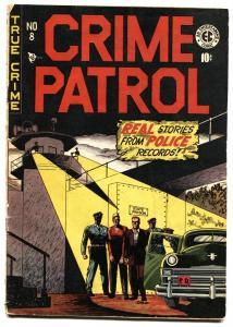 Crime Patrol #8-1948-Rare Sci-Fi prototype issue-EC comic book