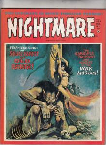 Nightmare Magazine #9 (Oct-72) VF/NM High-Grade