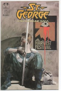 ST. GEORGE #4, VF/NM, Epic Comics, 1988  more Indies in store