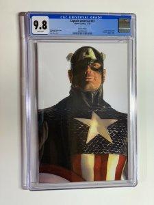 Captain America #23 CGC 9.8 Alex Ross TIMELESS VIRGIN Variant Cover