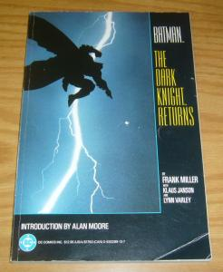 Batman: the Dark Knight Returns TPB FN frank miller - alan moore intro (1st)