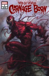 Marvel Web of Venom Carnage Born #1 Lucio Parrillo Variant Cover A Ltd to 3000
